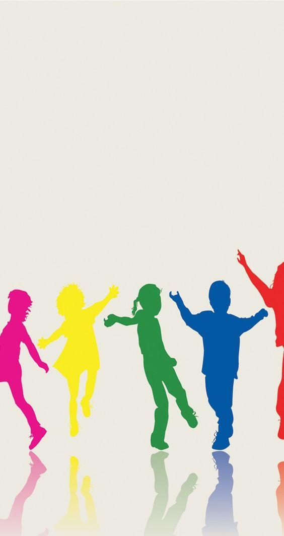 happy children powerpoint template is nice for children