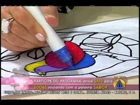 Sabor de Vida | Hidro Miçanga - Efeito Vitral - 10 de Dezembro de 2012 - YouTube