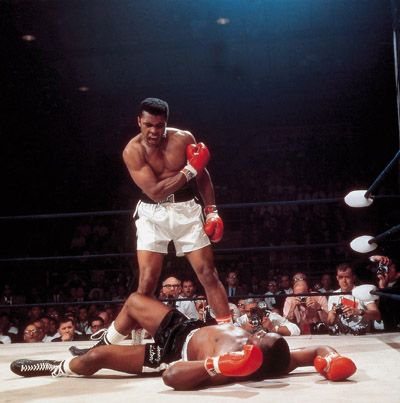 """February 25, 1964, Muhammad Ali, then still known as Cassius Clay, fought Charles """"Sonny"""" Liston for the world heavyweight title in Miami, Florida therefore becoming World Heavyweight Champion."""