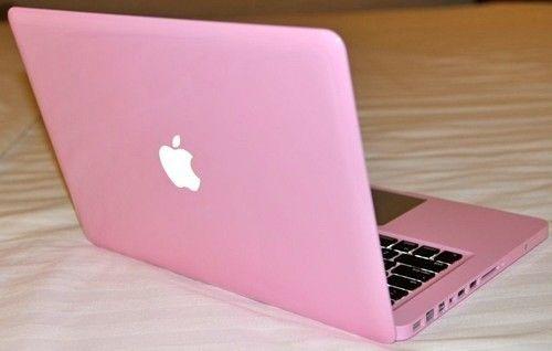 <3 Pink Mac Book...
