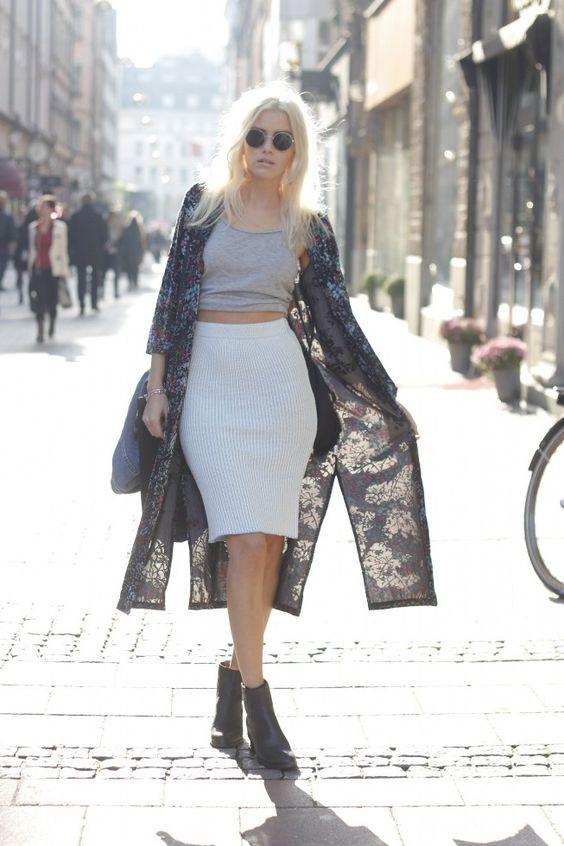 Elsa Ekman - Knitted skirt