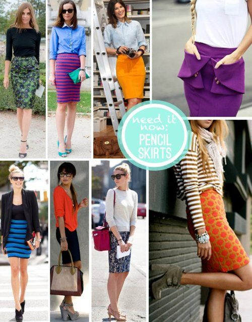 Pencil Skirts- Oh my!