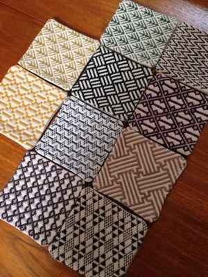 Coasters - kogin embroidery