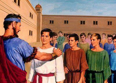"""A Bíblia pela Bíblia: """"Há no teu reino um homem que tem o espírito dos d..."""