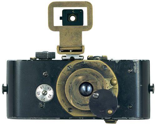 Ur Leica 1914. Uno de los primeros prototipos de Leica.
