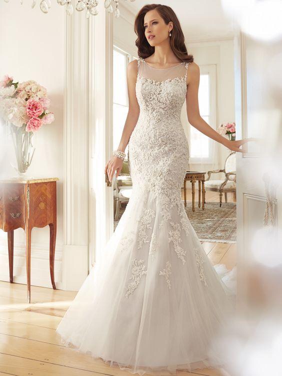 صور فساتين زفاف مختارة من أجمل موديلات سنة 2019 بفبوف Boda De Moda Vestidos De Novia Vestidos De Novia Blancos