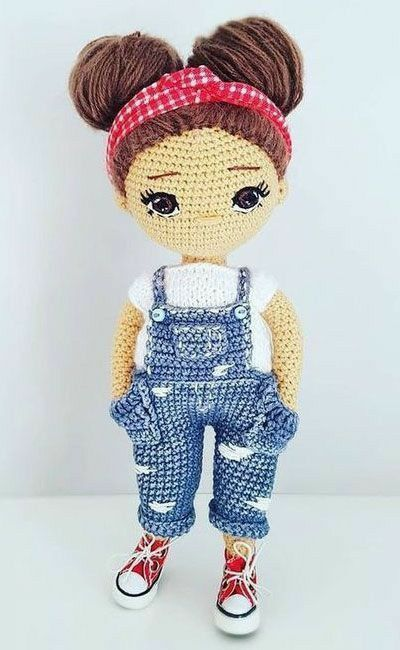 Amigurumi Knitting Amigurumi doll (dress and pantyhose ...   650x400