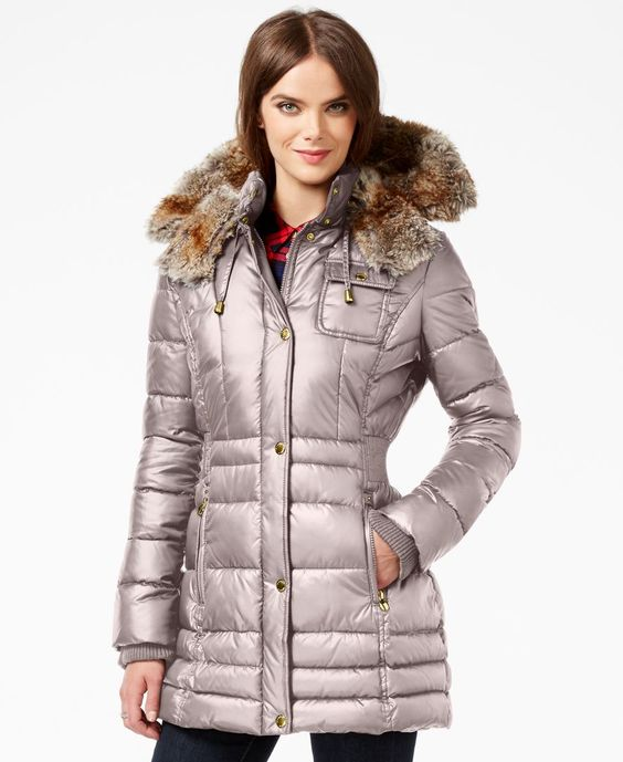 Laundry by Design Petite Faux-Fur-Trim Puffer Coat | Products