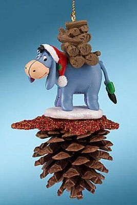 Eeyore pine cone ornament from Fantasies Come True
