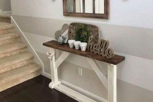 Thin Sofa Table For Behind The Couch Diy Sofa Table