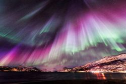 The Aurora Borealis ~ sort of makes fireworks pale in comparison doesn't it?