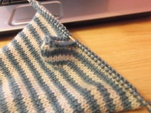 Flat Knitting Patterns : Fingerless Gloves - Stashbusting project Flats, Fingerless mitts and Knitti...