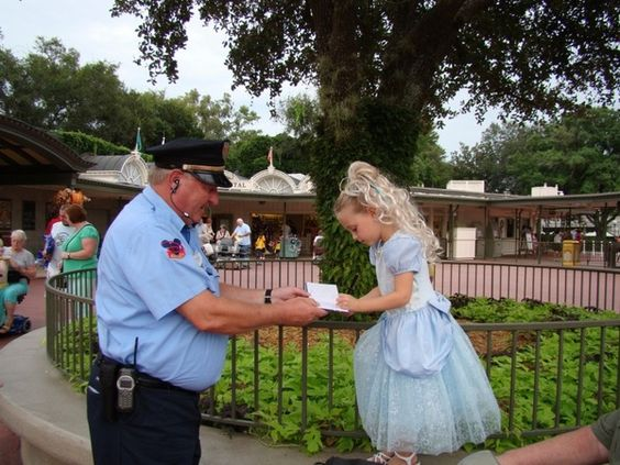 This would be a man that loves going to work and does not dread it the night before. Upon entering the Magic Kingdom, one of the security guards said to Alli Excuse me Princess, can I have your autograph. I could see that the book was filled with childrens scribbles as the guard asked the same question of many little Princesses. Alli could not get over the fact that the guard thought she was a real princess. So Sweet!