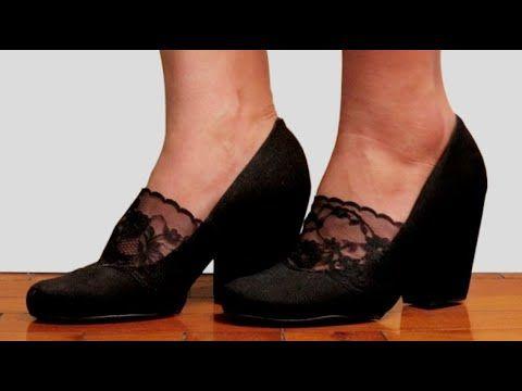 Como Transformar Sapato Velho Em Novo Nina Martins Youtube Em