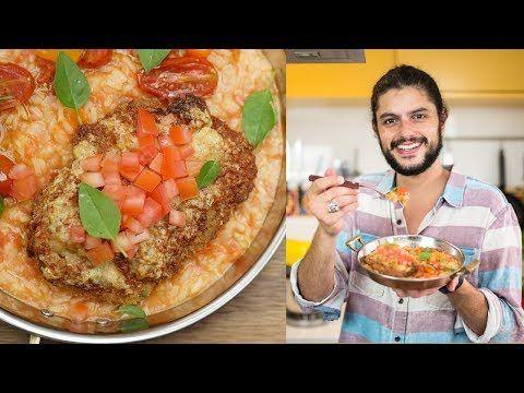 Bife A Parmegiana Com Arroz De Tomate Mohamad Hindi Com Imagens
