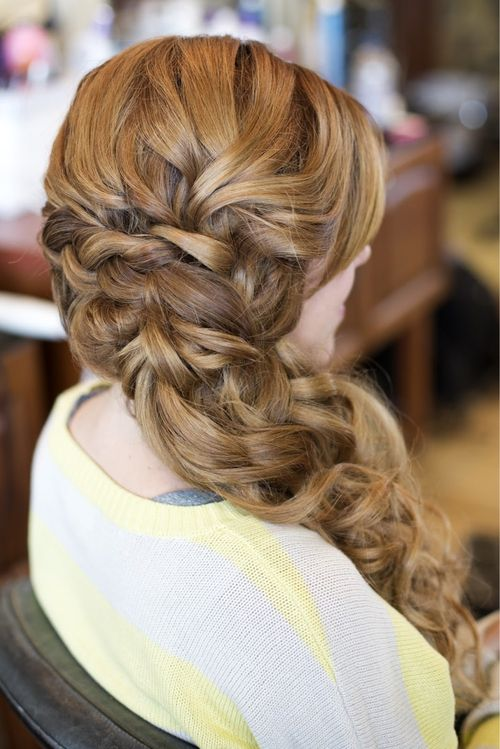 Peachy Prom Hairstyles Prom And Hairstyles On Pinterest Hairstyle Inspiration Daily Dogsangcom
