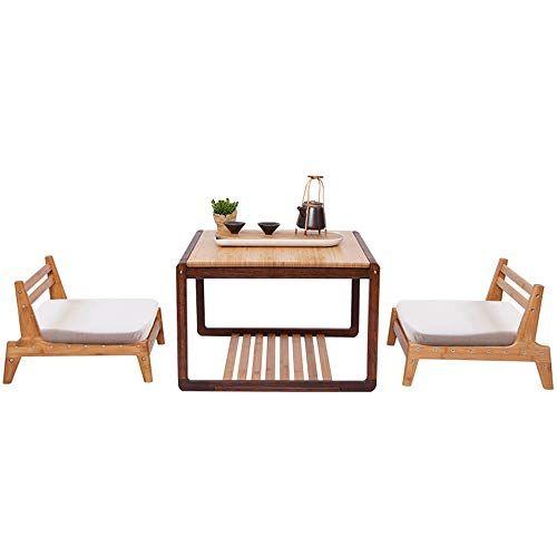 Deo Chaise De Siege De Plancher De Table Pour La Chaise De Balcon Japonais De Salon Avec Le Mobilier D Accent S Asseoir Par Terre Chaise De Salon Table Plancha