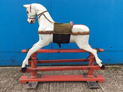 Quick Guide To Identifying Your Antique Rocking Horse The Rocking Horse Works Antique Rocking Horse Rocking Horse Horses