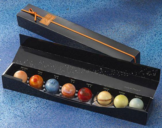 Chocolate Planets