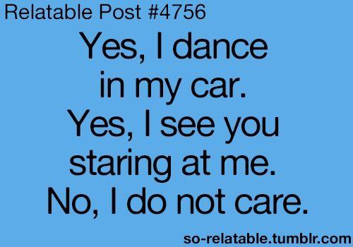 No I do not care...