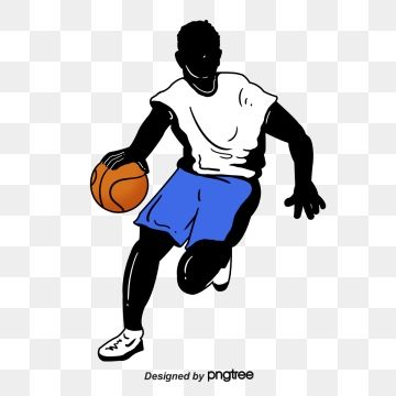 Silhouette Of Creative Basketball Players Sports Bodybuilding Creative Png Transparent Clipart Image And Psd File For Free Download Basketball Players Players Basketball Moves