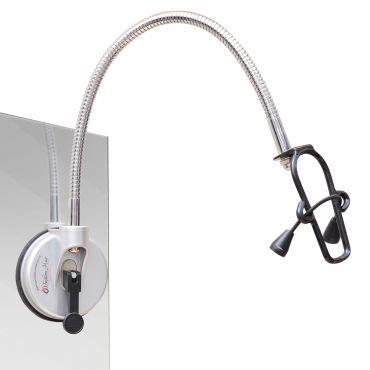Suporte para Secador Fashion Hair - totalmente portátil, leve e flexível, Não precisa furar a parede, Mãos livres para segurar a escova - Orion