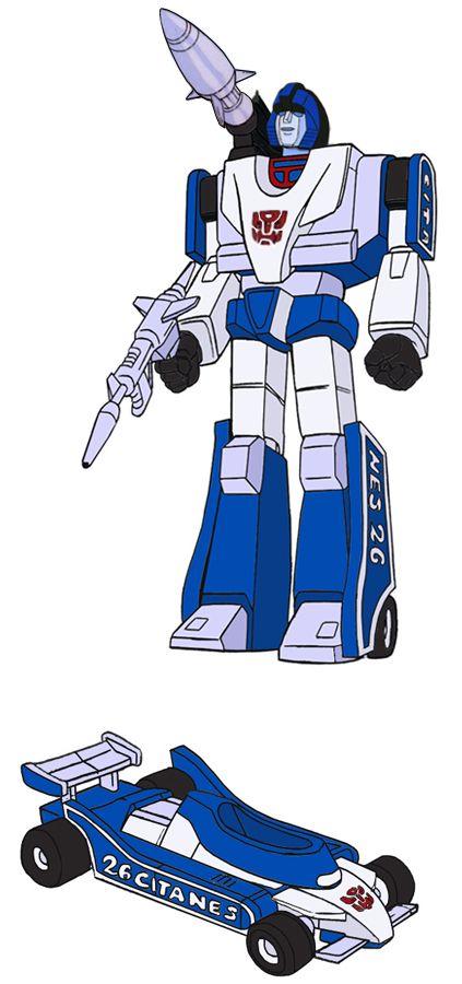 Transformers Generation 1 Cartoon Characters : Mirage Мираж Міраж transformers kiev ua