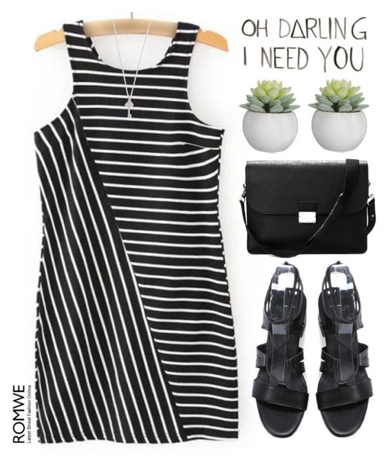 """""""Stripes"""" by mihreta-m ❤ liked on Polyvore featuring Aspinal of London and INDIE HAIR"""