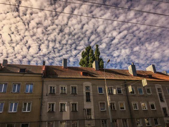 Небо над Калининградом в сентябре. Фото Жени Шведы
