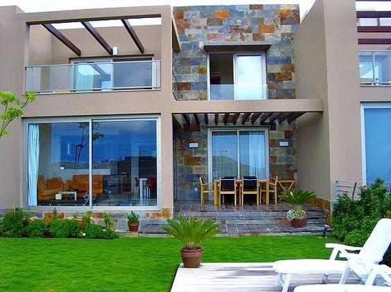 Piedra laja brasil para el exterior de las escaleras color de la casa y pergolas casa - Casas ideales tenerife ...