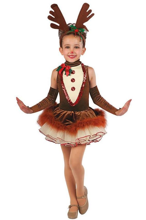 Reindeer outfit pageants pinterest and