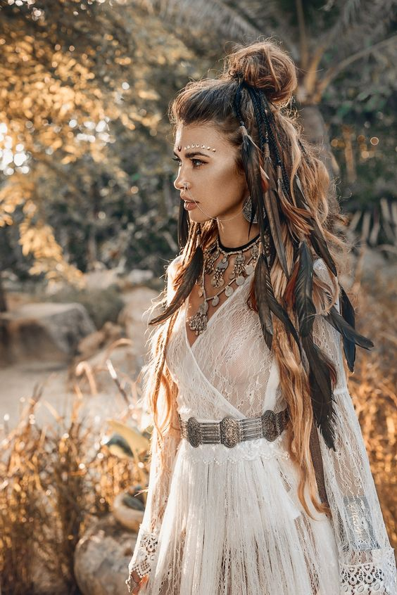 Her hair look awesome | so boho queen | Outfit of the day!