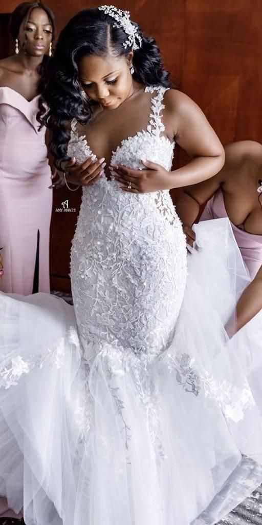 47++ Black owned plus size wedding dresses ideas