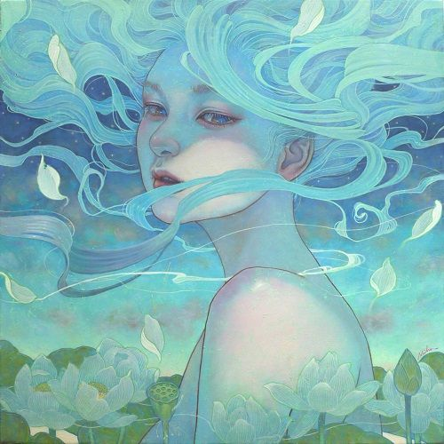 """Day Breaks"" by Miho Hirano. Pop surrealismo 