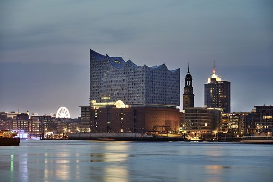 Herzog & de Meuron's Elbphilharmonie concert hall in Hamburg, Germany