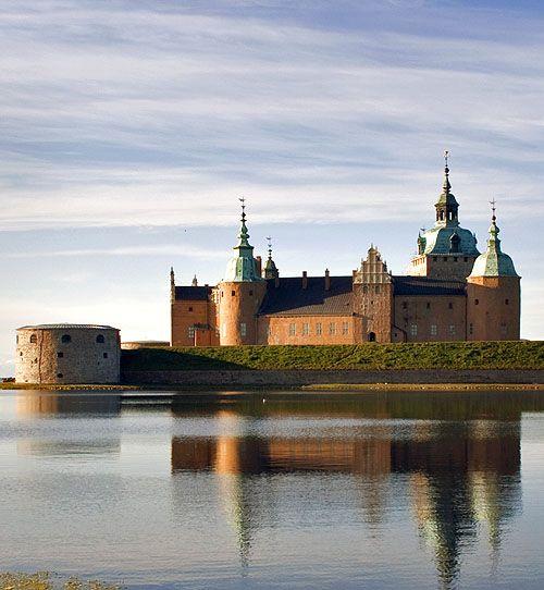 Kalmar slott (Kalmar Castle) Småland in Sweden…