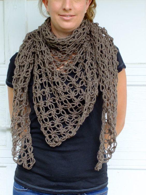 Crocheted Shawl!