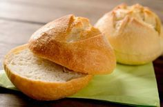 Pão francês de hambúrguer