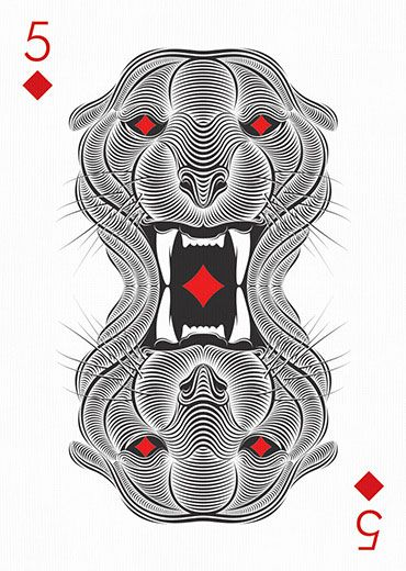 5 of Diamonds by Patrick Seymour