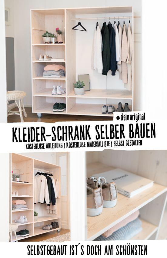 Flurmobel Lisa Selber Bauen Alle Mobel Diy Kleiderschrank