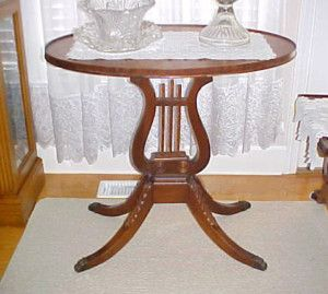 Antique Dining Table With Metal Claw Feet Home Decor