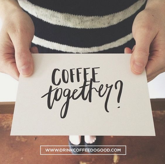 Who will you share #coffeetogether with? drinkcoffeedogood.com/coffeetogether