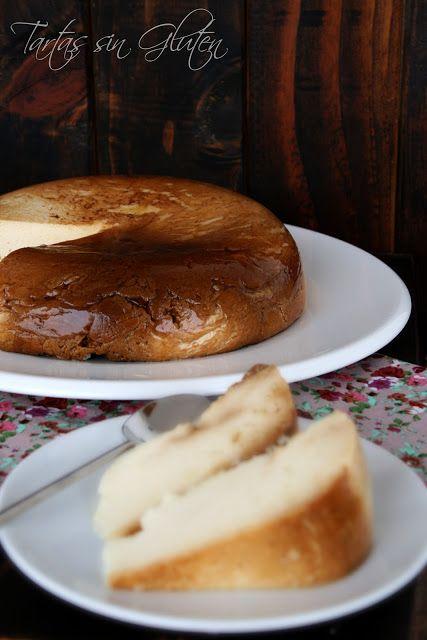 Microondas flan de queso como el flan de huevo con leche - Postres con queso de untar ...