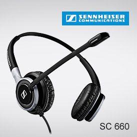 Schnurgebundenes Headset SC 660 - bei ProCom-Bestmann testen. Aktiver Gehörschutz, Noise Canceling Mikrofon