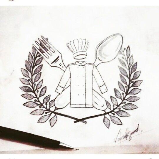 Desenho feito para cheff ♡
