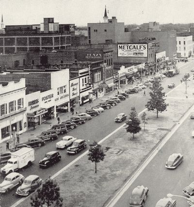 Columbus, Ga in the early 1950s  Broad Street