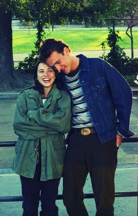 nick and lindsay from freaks and geeks film and