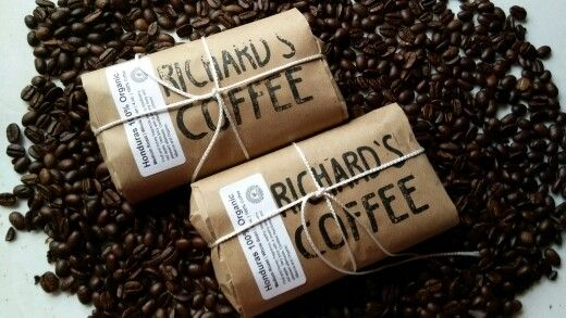 Love coffee ...made hand  coffee..freshhh delicious honduran Www.richardscoffee.com