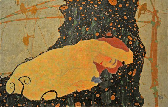 nightshiftsister:      Danae, Egon Schiele