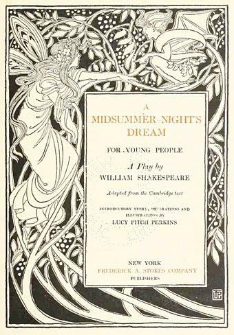 When was a midsummer night's dream written